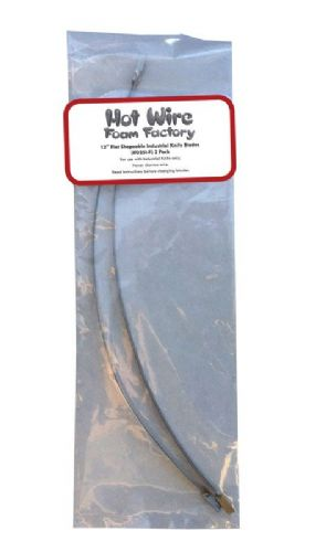 035I-F - 12-Inch  Industrial Hot Knife Shapeable Flat Wires